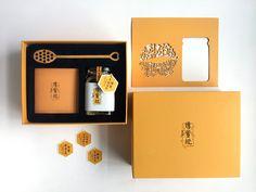 传蜜说-缅甸蜂蜜包装设计(礼盒装) on Behance