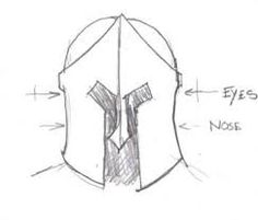 spartan helmet template!!!!!!!!! and how to make it