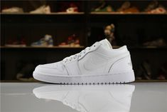 lowest price f9dce 20459 How To Buy Mens and Womens Air Jordan 1 Low Triple White