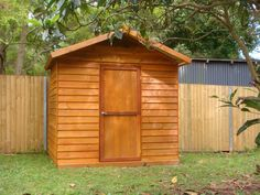 Australian Made Timber Garden Shed from Aarons Outdoor Living - Byron (2.3m x 1.8m x 2.6m high)