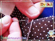 Aprenda como fazer patchwork no pano de prato passo a passo!