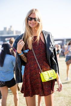 A pop of color #streetstyle