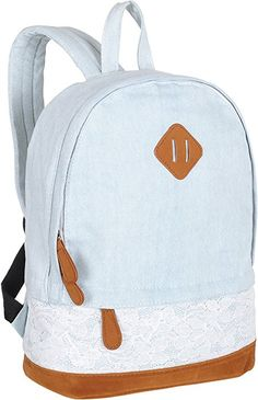 9db9288d1c BLUBOON Teens Backpack Set Canvas Girls School Bags