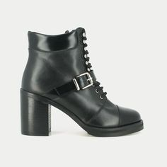 boots à talons en cuir jonak
