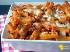 Pasta al forno con ragù di salsiccia (ricetta primo). Ricetta della pasta al…