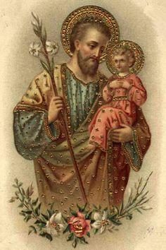 Gorgeous St. Joseph cards