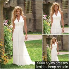 China Chiffon Halter Beach Wedding Dress Bridal Find Details About Dresses Gown From