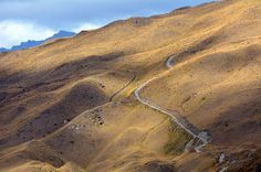 New Zealand       Skippers Canyon Road is a beautiful scenic, terrifying road. This roadway is so narrow and winding that it requires a special permit to drive. It also does not have enough room for two cars, making it prone to accidents and head-on collisions.