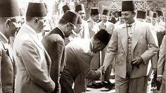 الملك فاروق الأول في أحدى المناسبات
