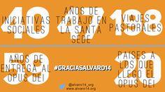 #GraciasAlvaro14 https://twitter.com/alvaro14_org/status/488986367175585792