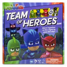 PJ Masks Team of Heroes Board Game