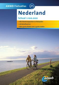 This atlas contains 56 separate mapsheets. It shows all bicycle lanes, mushroom signs and a lot of ANWB signposted cycling routes. For when you prefer to find your own way cycling in the Netherlands.
