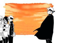 Naruto Uzumaki, Anime Naruto, Sasuke Sakura Sarada, Boruto And Sarada, Naruto Fan Art, Naruto And Sasuke, Naruhina, Boruto Characters, Manga Characters