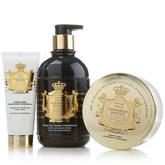 Perlier Imperial Honey 3-piece Bath and Body Set