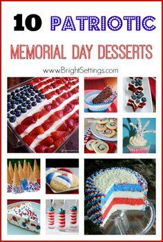 Patriotic desserts for birthday