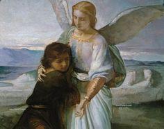 Una Imagen vale más que mil palabras...: TOBÍAS Y EL ÁNGEL, ANGEL M. PRADO.