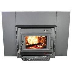 Earth Stove Colony Hearth Fireplace Insert Wood Buring Stove 115 ...
