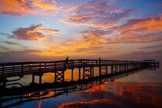 Stellar Safety Harbor sunrise this morning. Nice to see sunrise/sunset picks back. Standing water gets old! Thanks to Chuck Alestra. — in Safety Harbor, Florida.