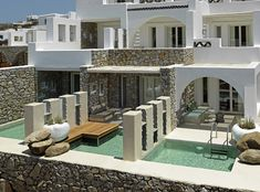Kenshō Boutique Hotel & Suites, the ultimate combination of traditional design with modern luxury in Mykonos Mykonos Hotels, Boutique Hotel Mykonos, Boutique Hotels, Mykonos Town, Mykonos Greece, Santorini, Tulum, Boutiques, Myconos