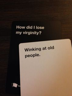Gotta love Cards Against Humanity!!!!
