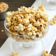 Tequila-Spiked Caramel Popcorn