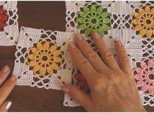Crochet & Knit by Beja - Free Patterns, Videos + How To Crochet Monkey Pattern, Crochet Coaster Pattern, Crochet Animal Patterns, Crochet Blanket Patterns, Knitting Patterns, Granny Square Crochet Pattern, Crochet Motif, Crochet Stitches, Hat Crochet