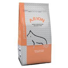 #POPULAR #Arion #Premium Sensitive Salmon & Rice (Hipoalergénico) com o salmão, enquanto fonte única de proteína animal, e arroz como cereal, sem glúten, para evitar intolerâncias e alergias alimentares. #Wecanimal