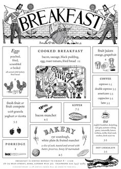 Quo Vadis restaurant (London) website, designed by Thumbcrumble with illustrations by John Broadley