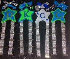 Cheer Bow Holder- Custom on Etsy, $10.00