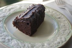 Gluten-Free-Vegan-Girl: Fluffy Gluten-free Chocolate Cake with Healthy Chocolate Frosting