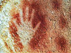 From Pech Merle, c. 25,000 BP Prehistoric Cave-art.