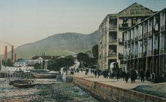 渣甸糖廠:英文是 Jardines' Sugar Factory,時人稱為渣甸糖房。糖廠前身是香港鑄幣廠,鑄幣廠在1866年5月7日開幕,因虧損巨大和政治因素,只要營運了兩年,於1868年8月停辦。當時的渣甸洋行,即現時的怡和公司以12萬元買下,將鑄幣機器售給日本,然後購置製糖機器,把鑄幣廠改建為渣甸糖廠。