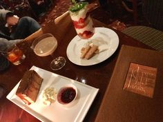 Decadently delicious dessert at Top of the Mark – Chocolatini that includes Smirnoff vanilla, Godiva Chocolate, and Kahlua. I further indulged my sweet tooth with the Dobos Torte with salted caramel and the Strawberry Shortcake that includes chantilly cream and pecan shortbread cookies.