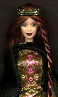 Dolls of the World Barbie, Princess of Ireland 2002