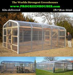 Greenhouse Pro's - Greenhouses for the hobby gardener and professional grower.