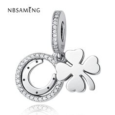 Sterling Silver Lucky Day Pendant
