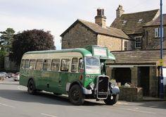 This vintage bus tours round Wensleydale. Photo taken at Masham !