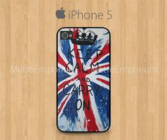 Keep Calm And Carry On iPhone 5 Case Union Jack by MetroEmporium, $15.79