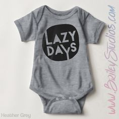 Lazy Days Newborn Baby Outfit, Birth Announcement, Coming Home Outfit, Personalized Baby Shower Gift, Gender Neutral Infant Clothes, Hipster by BrileyStudios on Etsy