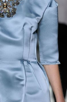 Lanvin Spring 2009 Ready-to-Wear Fashion Show Details Blue Fashion, Runway Fashion, Fashion Show, Womens Fashion, Lanvin, Color Celeste, Organza, Turquoise, Classy And Fabulous