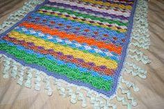 Easy Beginner Crochet Baby Blanket   Crochet Spot » Blog Archive » Crochet Pattern: Kaleido Blanket