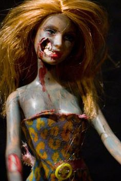 Zombie Barbie--this is awesome