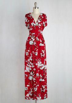 Feeling Serene Dress in Ruby
