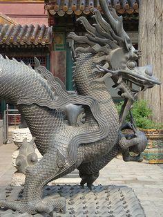 Dragon - temple guardian