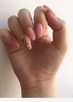 Nail art Christmas - the festive spirit on the nails. Over 70 creative ideas and tutorials - My Nails Minimalist Nails, Stylish Nails, Trendy Nails, Cute Acrylic Nails, Cute Nails, Nail Manicure, Nail Polish, Hair And Nails, My Nails