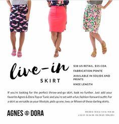37503801b82ce Agnes & Dora Live In Skirt www.shopmyprettythings.com #agnesanddora #aandd #