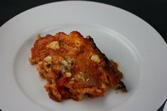 Crock Pot Buffalo Chicken lasagna