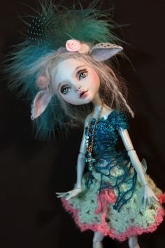 OOAK Monster High Lagoona Doll