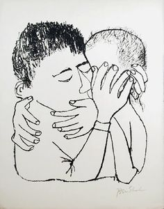 Ben Shahn- Memories of Many Nights of Love