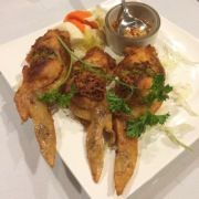 Linda Do and brother Ty Do run Oakland's Phnom Penh House, featuring flavorful #Cambodian cuisine in a no-fuss setting. Stuffed #chickenwings are a star dish